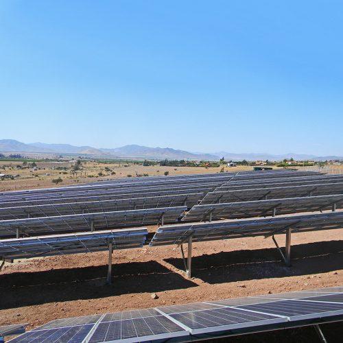 Parque fotovoltaico Mollacas